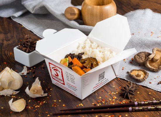 Legume cu ciuperci Shiitake
